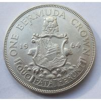 Бермуды, крона, 1964, серебро