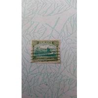 Старая марка Ямайка 13