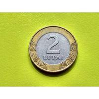 Литва. 2 лита 1999. (1).