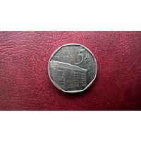 Куба 5 сентаво, 1994г. (а-6)