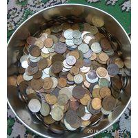 Куча монет,около 3.3 кг.