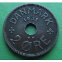 Дания. 2 эре 1931. Много лотов в продаже.