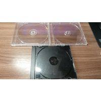 Футляры пластиковые для CD-дисков