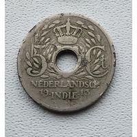 Голландская Ост-Индия 5 центов, 1913 1-4-19