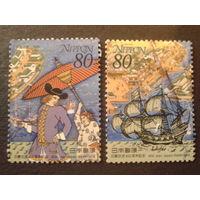Япония 2000 400 лет сотрудничества с Голландией полная серия