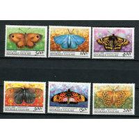 Того - 1999 - Бабочки - [Mi. 2875-2880] - полная серия - 6 марок. MNH.