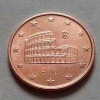 5 евроцентов, Италия 2018 г., UNC