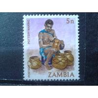 Замбия 1981 Стандарт 5п*