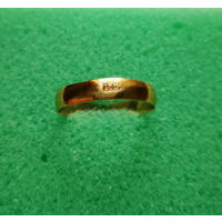 Обручальное кольцо 1884 г., 19,5мм. лот ок-2