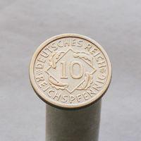Германия 10 рейхспфеннингов 1925 A