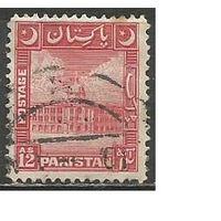 Пакистан. Мечеть. 1949г. Mi#54.