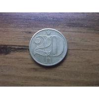 Чехословакия 20 геллеров 1983