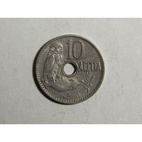 Греция 10 лепта 1912г