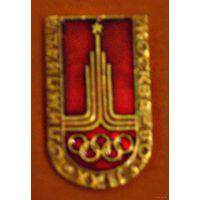 Значок Олимпиада Москва 80 ,XXII