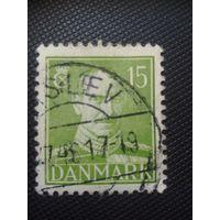 Дания. Стандарт. 1942г. гашеная
