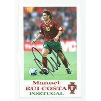 Manuel Rui Costa(Португалия). Живой автограф на фотографии #1