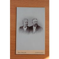 Старая немецкая фотография, размер 106,5 см.