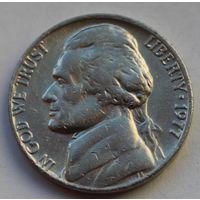 США, 5 центов 1977 г.