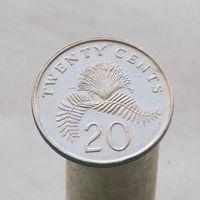 Сингапур 20 центов 1990