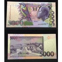 Банкноты мира. Сан-Томе и Принсипи, 5000 добр