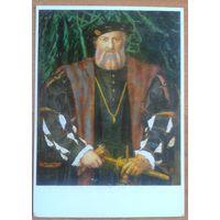 Ганс Гольбейн. Портрет французского посла в Англии сэра Моретта Шарля де Солье. ГДР. 1970-е.