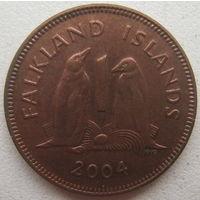 Фолклендские острова 1 пенни 2004 г.