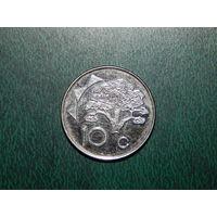 Намибия 10 центов 2012
