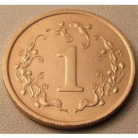 Зимбабве. 1 цент 1980 год KM#1
