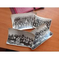 4 школьных фото 5,6,7и 9 класса 2ой женской школы Минска.