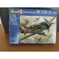 Сборная модель Bf 109 G10 messerschmitt Ревел