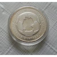 10 евро 2003 г. Чемпионат мира по футболу 2006. Германия. Серебро 925 проба