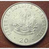 5398:  20 сантимов 1995 Гаити