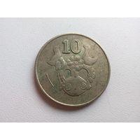 10 Центов 1994 (Кипр)