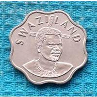 Свазиленд 10 центов 2005 года, UNC