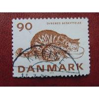 Дания 1975г. Фауна.