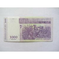 Мадагаскар, 1 000 франков.