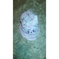Летние кепки девочке 3-6 лет