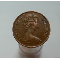 2 цента 1982 Фиджи