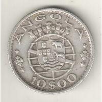Ангола 10 эскудо 1952
