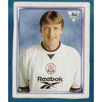 Наклейка игрока Болтона из альбома Английская премьер-лига 98