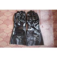 Перчатки применяющие в нефтяной и хим. промышленности