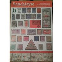 Sandafayre Аукционный каталог марок # 5232 от 23.09.14. Англия