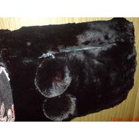 Муфта винтажная из натурального меха , котиковая .РЕТРО!