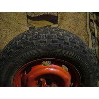 Диск Ваз штампованный диаметр 13 с шиной и камерой в сборе  Шина зимняя  Белшина НИИШП Ралли  165х80х13 Состояние нормальное. На запаску. Разболтовка (PCD) 98мм для 4 болтов. Только один.