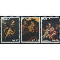Мальта 2011 Искусство, Живопись, Религия, Рождество **