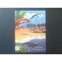 Мексика 2006 Динозавры блок