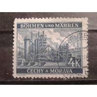 Богемия и Моравия 1939 завод в Остраве
