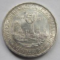 Германия, 3 марки, 1931 A, серебро