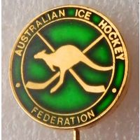 Официальный значок федерации хоккея Австралии