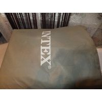Надувная кровать Intex, одноместная, покупал за 120 долларов, есть небольшой дефект, немного сдувается в одном месте, необходимо подклеить. обмен не интересует.